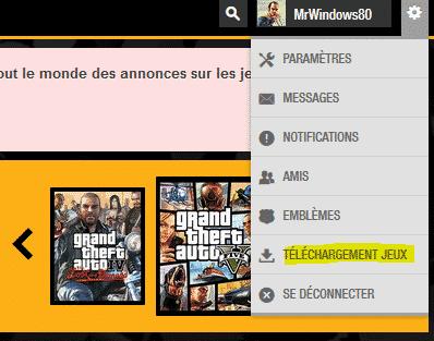 télécharger le jeu GTA V