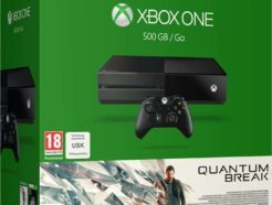 Console Xbox One 500 Go noire