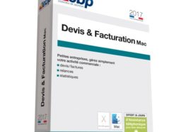 EBP Devis & Facturation Mac 2017