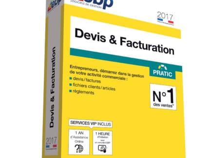 EBP Devis et Facturation Pratic 2017 + Services VIP