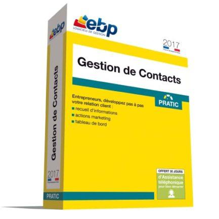 EBP Gestion de Contacts Pratic 2017