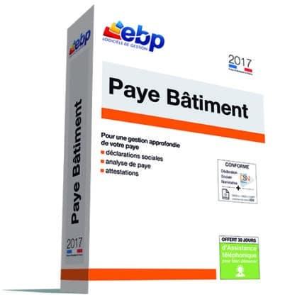 EBP Paye Bâtiment 2017