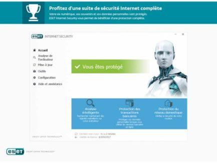 eset internet security aperçu