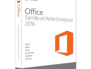 Achetez Office 2016 Famille & Petite Entreprise pas cher sur Boutique PcLanD