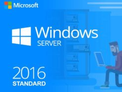 Windows Server 2016 Standard 64 Bit
