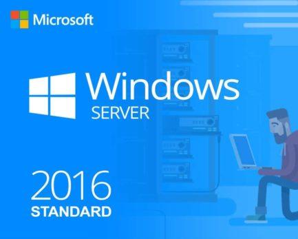 Windows Server 2016 Standard 64 Bit