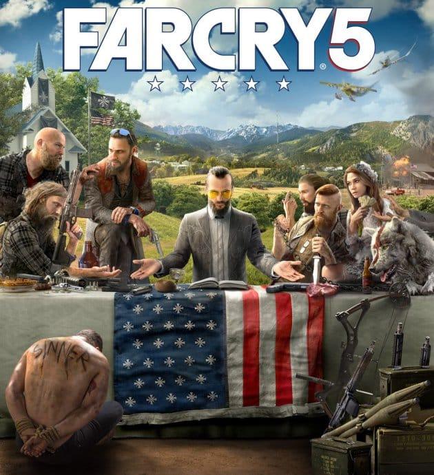 affiche Far cry 5