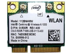 carte WiFi INTEL 112BNHMW Pci