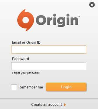 activer votre jeu Origin